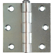 National Hardware N195-644 2-1/2 By 2-1/2 Inch Zinc Broad Hinges 2 Pack