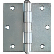 National Hardware N195-669 3-1/2 Inch Zinc Broad Utility Hinges 2 Pack