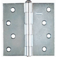 National Hardware N195-677 4 Inch Zinc Plated Steel Broad Utility Hinge