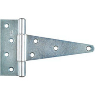 National Hardware N129-171 Heavy Duty T-Hinge 6 Inch Zinc Plated Steel Bulk