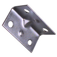 National Hardware N206-920 1-1/2 By 3/4 Inch Zinc Corner Brace