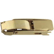 National Hardware N208-520 Draw Hasp 2-3/4 Inch Brass Plated Steel