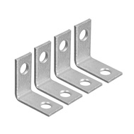 National Hardware N208-728 Corner Braces 1 By 1/2 By 0.07 Inch Galvanized Steel 4 Pack