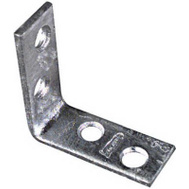 National Hardware N208-736 1-1/2 By 5/8 Inch Galvanized Steel Corner Braces 4 Pack