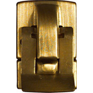 National Hardware N211-961 7/8 By 1-1/2 Inch Antique Brass Finish Catch