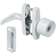 National Hardware N213-033 Latch Knob W/Key White
