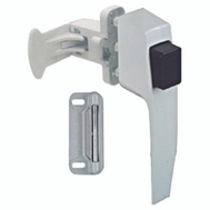 National Hardware N213-165 White Push Button Latch