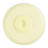 National Hardware N218-479 N213-595 Moulded Cover Up Wall Guard 5-3/8 Inch Round Almond