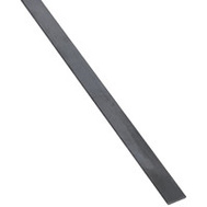 National Hardware N215-541 Weldable Flat Bar 1/8 Inch Thick 3/4 Inch By 72 Inch Hot Rolled Plain Steel