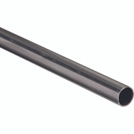 National Hardware N215-749 Weldable Round Tubing 1 Inch By 48 Inch Hot Rolled Plain Steel