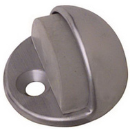 National Hardware N215-830 Low Rise Dome Floor Mount Door Stop Satin Chrome