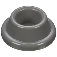 National Hardware N215-889 Concave Rubber Door Bumpers 1-7/8 Inch Gray 2 Pack
