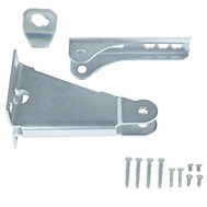 National Hardware N218-594 Screen Door Closer Parts Kit Zinc Plated Steel