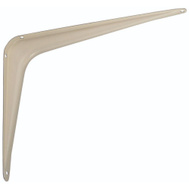 National Hardware N218-933 Utility Shelf Bracket 8 By 10 Inch Almond