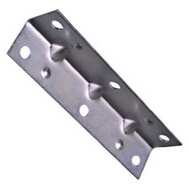 National Hardware N220-079 Wide Inside Corner Braces 3-1/2 By 3/4 By 0.04 Inch Zinc Plated Steel 4 Pack