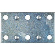 National Hardware S839-175 N239-799 N220-103 2-1/2 By 1-3/8 Inch Zinc Mending Plate 4 Pack