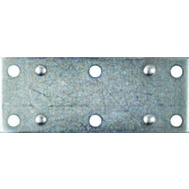National Hardware N220-111 S839-183 Wide Mending Plate Brace 3-1/2 By 1-3/8 By 0.07 Inch Zinc Plated Steel 4 Pack