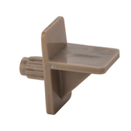 National Hardware N224-691 Shelf Support Tan Plastic 1/4 Inch Hole Bulk Loose