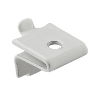 National Hardware N225-177 Shelf Support Pilaster Clip White 8 Pack