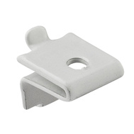 National Hardware N225-185 Shelf Support Clips For Pilasters White Loose