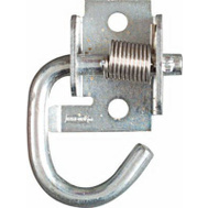 National Hardware N237-040 Spring Rope Hook Zinc Plated Steel