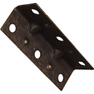 National Hardware N226-290 2-1/2 By 3/4 Inch Antique Brass Corner Braces 4 Pack
