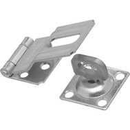 National Hardware N226-480 N102-855 Swivel Staple Safety Hasp 3-1/4 Inch Zinc Plated Steel