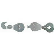 National Hardware N228-072 Pully Block And Tackle 2 Inch Set