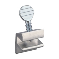 National Hardware N236-687 Movable Window Stop Aluminum Finish Bulk