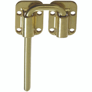 National Hardware N238-980 Sliding Door Latch 1-1/2 Inch Brass Finish