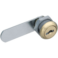 National Hardware N239-152 Draw And Door Utility Lock Brass 1/4 Inch Thick Keyed Alike