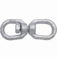 National Hardware N241-075 Chain Swivel 1/4 Inch Galvanized Forged Steel