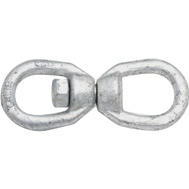 National Hardware N241-083 Chain Swivel 5/16 Inch Galvanized Forged Steel