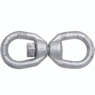National Hardware N241-109 Chain Swivel 3/8 Inch Galvanized Forged Steel