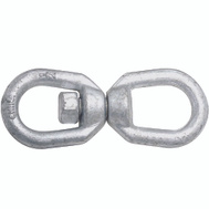 National Hardware N241-117 Chain Swivel 1/2 Inch Galvanized Forged Steel