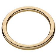National Hardware N244-129 Welded Ring #2 By 2 Inch Brass Plated Steel