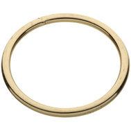 National Hardware N244-145 Welded Ring #1 By 3 Inch Brass Plated Steel