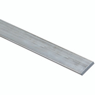 National Hardware N247-049 Flat Bar 1/8 Inch Thick 3/4 Inch By 72 Inch Mill Finish Aluminum