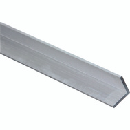 National Hardware N247-411 Solid Angle 1/8 Inch Thick 48 Inch By 1 Inch Mill Finish Aluminum