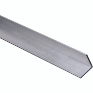National Hardware N247-445 Solid Angle 1/8 Inch Thick 48 Inch By 1-1/2 Inch Mill Finish Aluminum