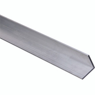 National Hardware N247-452 Solid Angle 1/8 Inch Thick 72 Inch By 1-1/2 Inch Mill Finish Aluminum