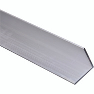 National Hardware N247-478 Solid Angle 1/8 Inch Thick 48 Inch By 2 Inch Mill Finish Aluminum