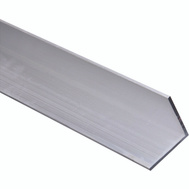National Hardware N247-486 Solid Angle 1/8 Inch Thick 72 Inch By 2 Inch Mill Finish Aluminum