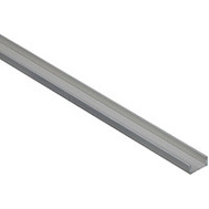 National Hardware N247-668 Channel 1/16 Inch Thick 72 Inch By 1/2 Inch Width Mill Finish Aluminum