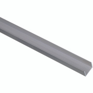 National Hardware N247-684 Channel 1/16 Inch Thick 72 Inch By 3/4 Inch Width Mill Finish Aluminum