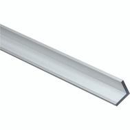 National Hardware N258-343 Solid Angle 1/8 Inch Thick 96 Inch By 3/4 Inch Mill Finish Aluminum