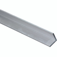 National Hardware N258-368 Solid Angle 1/8 Inch Thick 96 Inch By 1 Inch Mill Finish Aluminum