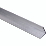 National Hardware N258-384 Solid Angle 1/8 Inch Thick 96 Inch By 1-1/2 Inch Mill Finish Aluminum