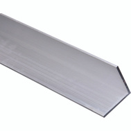 National Hardware N258-400 96 Inch Aluminum Angle 1/8 Inch Thick By 2 Inch