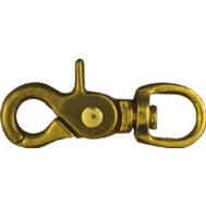National Hardware N258-681 1/2 By 2-5/8 Inch Bronze Trigger Snap